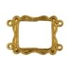 Brass Pendant Frame 19x16mm